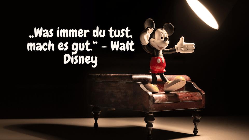 Micky Maus - Zitate übers Leben | 24 Zitate Leben