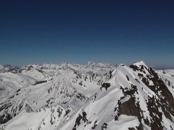 Schweizer Alpen um Andermatt Gemsstock
