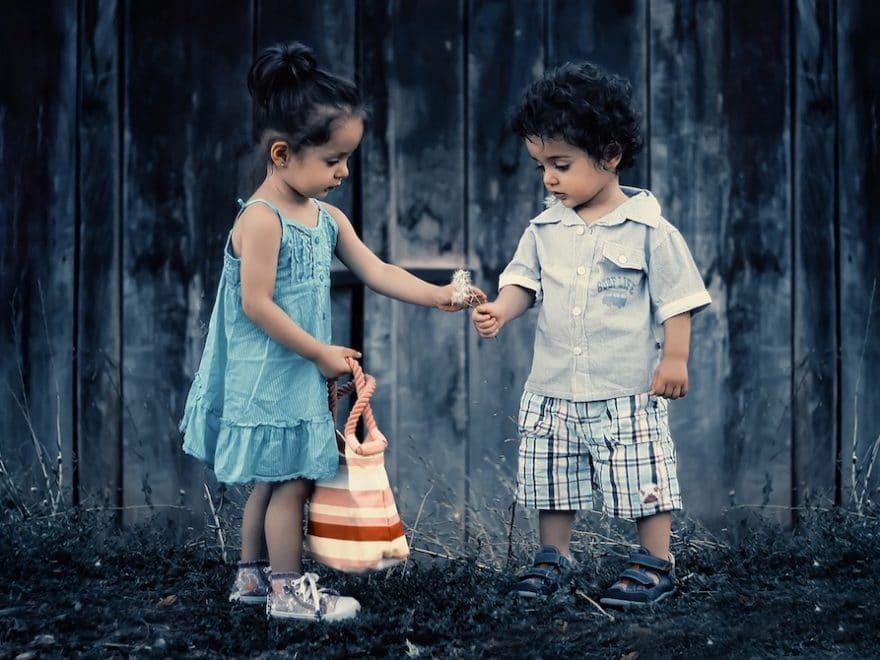 Bedingungslose Liebe bei Kinder