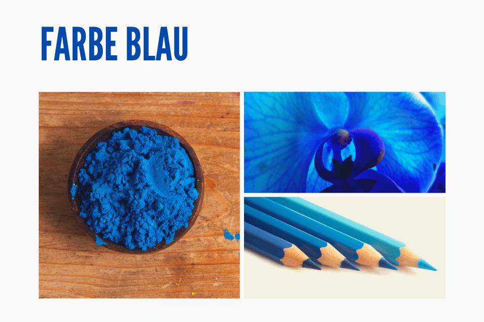 Das Geheimnis der Farbe Blau