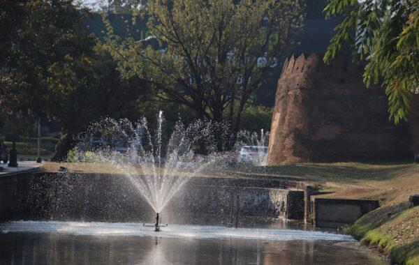 Springbrunnen - Das Leben ist wie ein Fluss