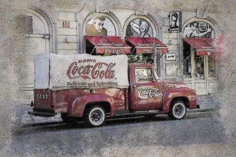 Der freundlichste Coca Cola Automat