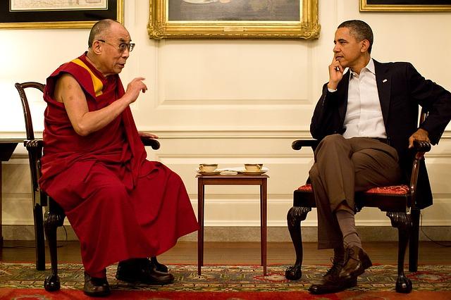 Zitate zum Thema Loslassen - Loslassen lernen - Zitat der vierzehnte Dalai Lama
