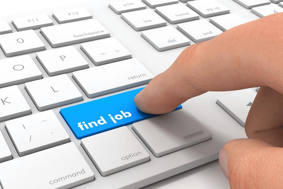 Enter Taste für, find Deinen Job