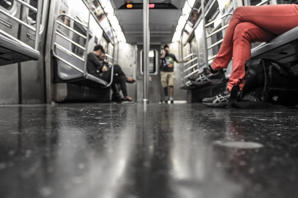 Flash-Mob in der U-Bahn