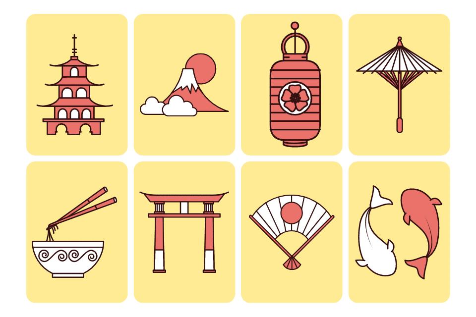 Symbole Fremdsprache