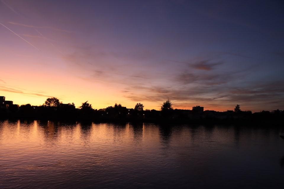 Sonnenuntergang - Mahatma Gandhi Zitate