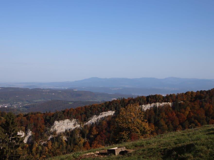 Aussichtspunkt Vogelberg Naturpark Thal