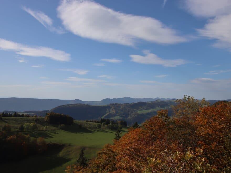 Aussichtspunkt Naturpark Thal bei Mümliswil