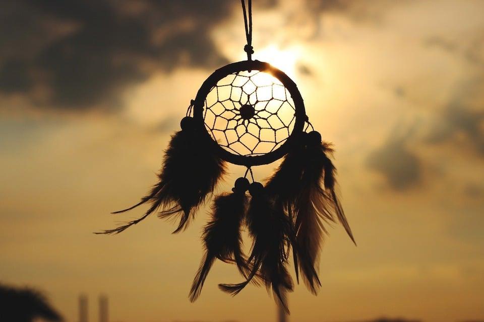 Traumfänger - Das Leben Loslassen - Indianische Weisheit