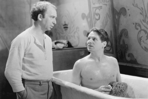 Zwei Männer in der Badewanne -Ein Klassiker - Lariot in der Badewanne