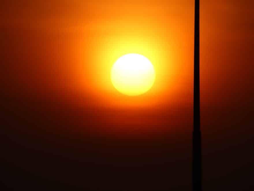 Sonnenaufgang am Bangkoker Flughafen - Lebe das Leben so angenehm wie möglich
