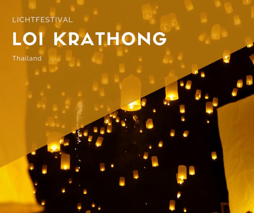 Kerzenlaternen Loi Krathong