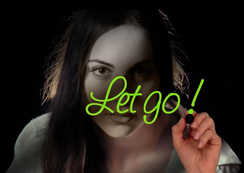 Loslass Übung - die Dich loslassen lernt