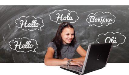 Hallo in verschiedenen Sprachen - Sprachen verbinden - wie geht es dir