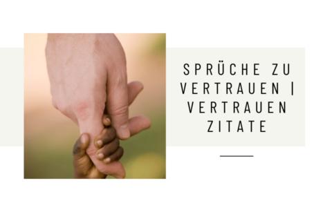 Babyhand hält die Hand eines Erwachsenen - Sprüche zu Vertrauen | Vertrauen Zitate