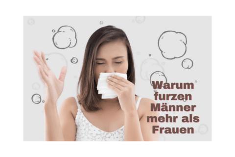 Frau riecht Furz - Warum pupsen furzen Männer mehr als Frauen