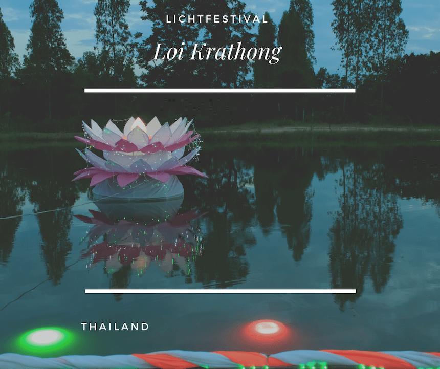 Eine Krathong - Was ist Loi Krathong