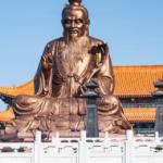 Wer ist Laotse? Statue von Laotse
