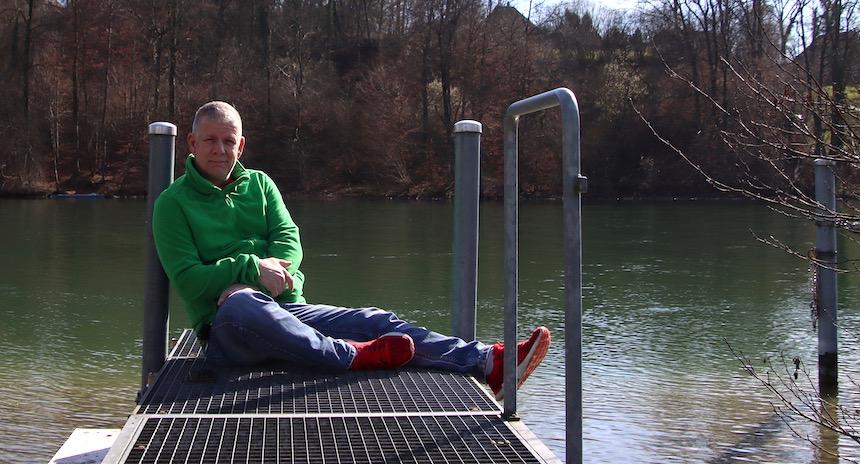 Roger Kaufmann an der Aare - Wünsche Manifestieren - Kein Vertrauen, keine Manifestation