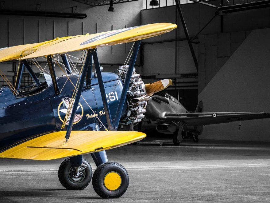 100 jähriger Pilot